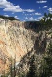 Sosta nazionale del Yellowstone, grande canyon fotografie stock libere da diritti