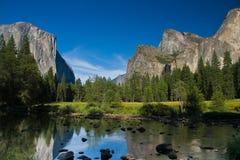 Sosta nazionale del Yosemite fotografie stock