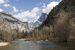 Sosta nazionale del Yosemite Immagini Stock