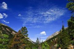 Sosta nazionale della montagna della roccia immagine stock