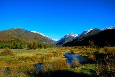 Sosta nazionale della montagna rocciosa Fotografie Stock Libere da Diritti