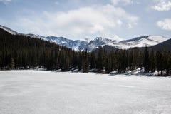 Sosta nazionale della montagna rocciosa fotografia stock libera da diritti