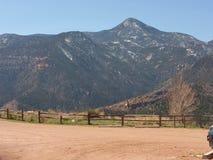 Sosta nazionale della montagna rocciosa Immagine Stock