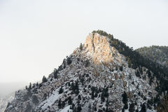Sosta nazionale della montagna rocciosa Immagini Stock Libere da Diritti