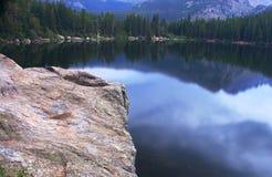 Sosta nazionale della montagna rocciosa del lago bear Fotografia Stock Libera da Diritti