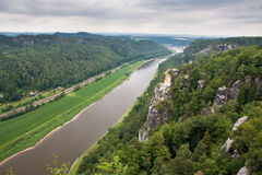 Sosta nazionale della Svizzera del Saxon Fotografia Stock
