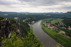 Sosta nazionale della Svizzera del Saxon Fotografia Stock Libera da Diritti