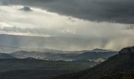 Sosta nazionale delle montagne blu Fotografie Stock