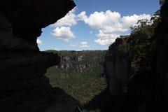 Sosta nazionale delle montagne blu Fotografia Stock Libera da Diritti