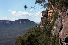 Sosta nazionale delle montagne blu Fotografie Stock Libere da Diritti