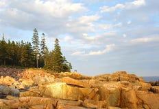 Sosta nazionale di Acadia Immagine Stock Libera da Diritti