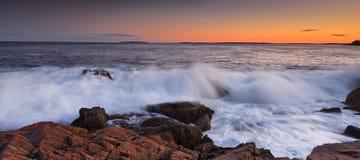 Sosta nazionale di Acadia Fotografie Stock Libere da Diritti