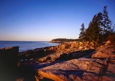 Sosta nazionale di Acadia immagini stock
