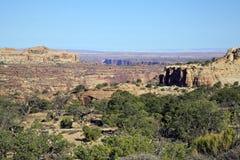 Sosta nazionale di Canyonlands Fotografia Stock