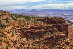 Sosta nazionale di Canyonlands, Utah fotografia stock