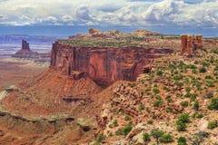 Sosta nazionale di Canyonlands, Utah fotografie stock