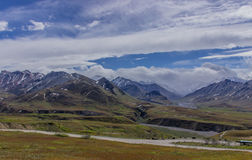 Sosta nazionale di Denali, Alaska Stati Uniti fotografia stock libera da diritti