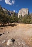 Sosta nazionale di EL Capitan-Yosemite, California, Immagini Stock