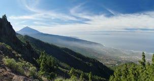 Sosta nazionale di EL Teide, Tenerife Fotografia Stock