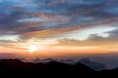 Sosta nazionale di Haleakala Fotografia Stock