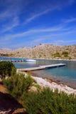 Sosta nazionale di Kornati nel Croatia Fotografie Stock Libere da Diritti