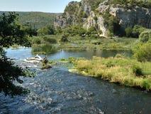 Sosta nazionale di Krka Immagine Stock Libera da Diritti