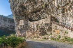 Sosta nazionale di Ordesa y Monte Perdido, Spagna Fotografia Stock Libera da Diritti