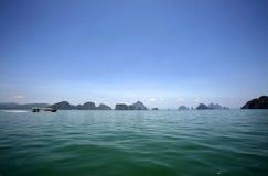 Sosta nazionale di Phang Nga Fotografia Stock Libera da Diritti