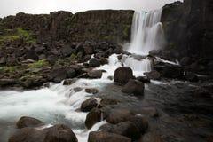 Sosta nazionale di Pingvellir, Islanda Fotografie Stock