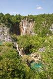 Sosta nazionale di Plivcie Fotografia Stock