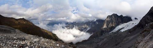 Sosta nazionale di Stelvio dell'intervallo di montagna Fotografia Stock Libera da Diritti