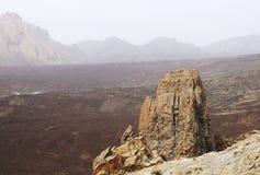 Sosta nazionale di Teide in Tenerife Fotografia Stock Libera da Diritti