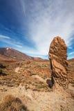 Sosta nazionale di Teide. Tenerife. Le Isole Canarie Fotografia Stock