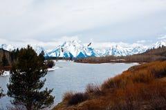 Sosta nazionale di Teton Fotografia Stock Libera da Diritti