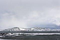 Sosta nazionale di Thingvellir, Islanda Immagini Stock