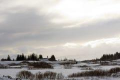 Sosta nazionale di Thingvellir, Islanda Immagini Stock Libere da Diritti