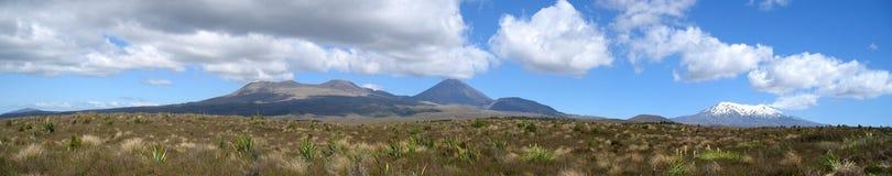Sosta nazionale di Tongariro, Nuova Zelanda Fotografia Stock Libera da Diritti