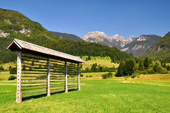Sosta nazionale di Triglav - alpi di Julian, Slovenia Immagini Stock Libere da Diritti