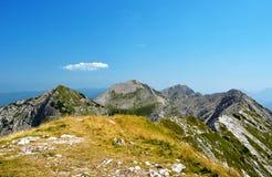 Sosta nazionale di Triglav - alpi di Julian, Slovenia Immagine Stock Libera da Diritti