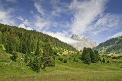 Sosta nazionale di Vanoise Fotografia Stock