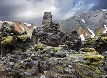Sosta nazionale in Islanda Fotografia Stock Libera da Diritti