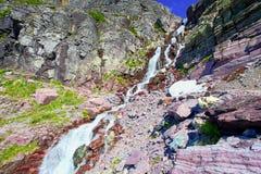 Sosta nazionale Montana del ghiacciaio Fotografia Stock Libera da Diritti