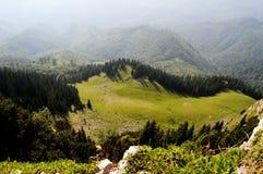 Sosta nazionale nei Carpathians Fotografia Stock Libera da Diritti