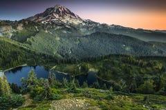 Sosta nazionale più piovosa di Mt Immagini Stock Libere da Diritti