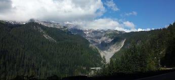 Sosta nazionale più piovosa di Mt Fotografia Stock Libera da Diritti