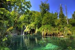 Sosta nazionale Plitvice fotografie stock