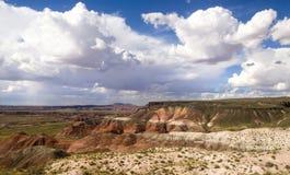 Sosta nazionale verniciata del deserto Immagini Stock Libere da Diritti