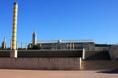 Sosta olimpica Barcellona Fotografie Stock