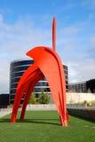 Sosta olimpica della scultura Fotografie Stock