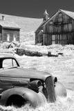 Sosta storica della condizione del Bodie Fotografie Stock Libere da Diritti